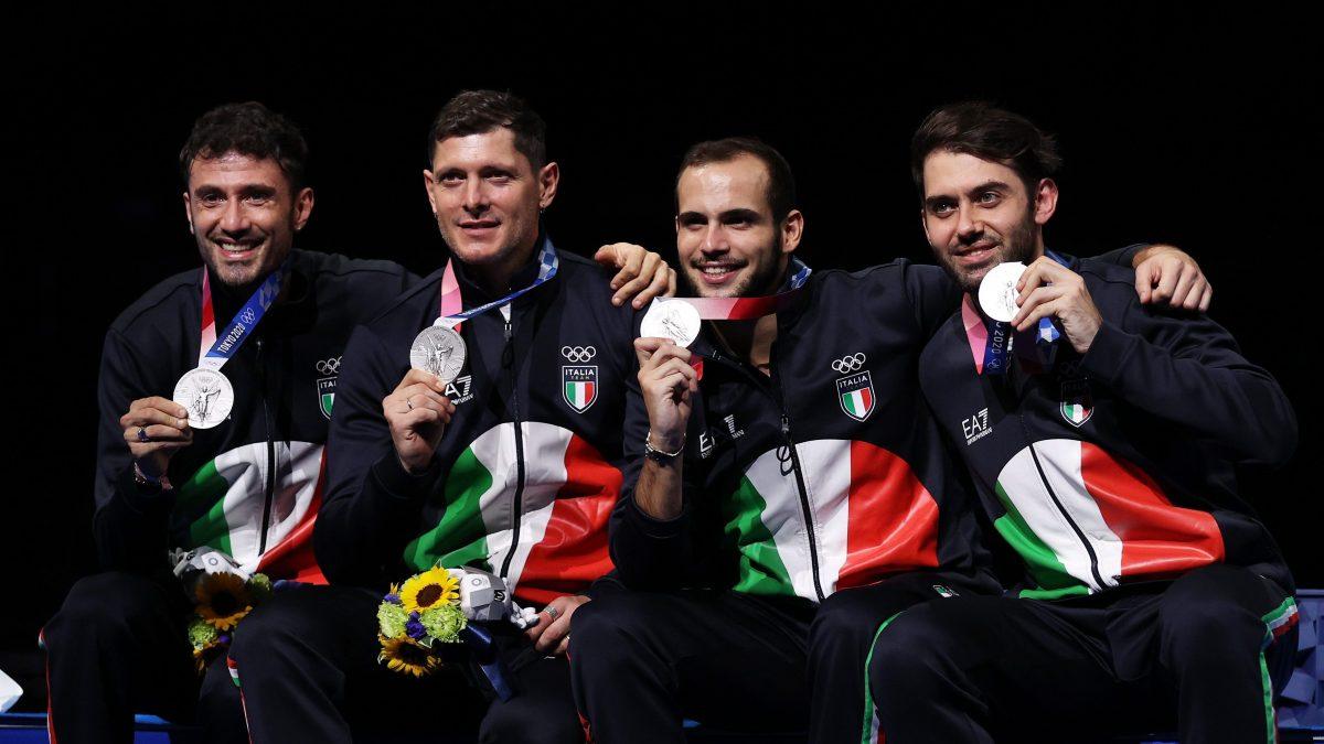 Le medaglie oro vinte finora dall'Italia, sono cinque